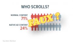 Le (bon) contenu de marque créerait autant d'engagement que du contenu éditorial pur.